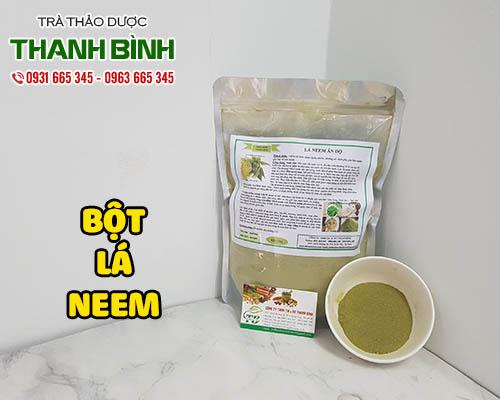 bột lá neem nguyên chất